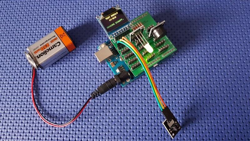 shield testare sensori arduino