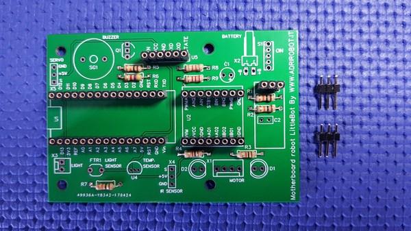 Motherboard Robot Littlebot 04