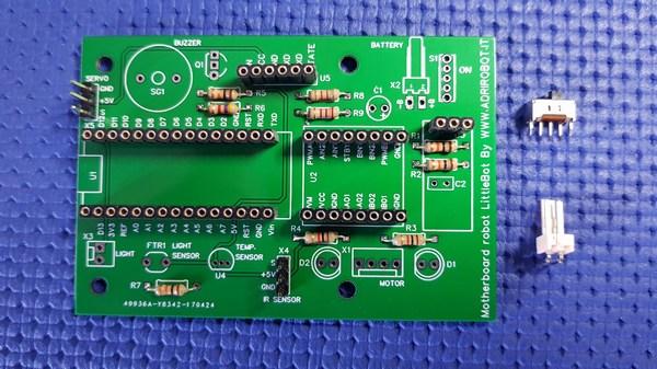 Motherboard Robot Littlebot 06