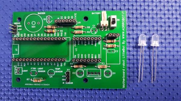 Motherboard Robot Littlebot 07