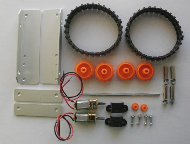 Robot LittleBOT Montaggio 01