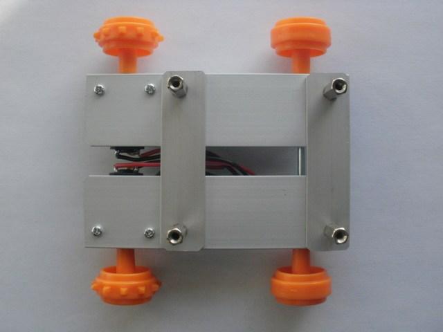 Robot LittleBOT Montaggio 09