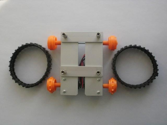 Robot LittleBOT Montaggio 10