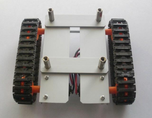 fasi costruzione telaio robot