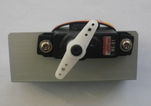 Robot LittleBOT Montaggio 16