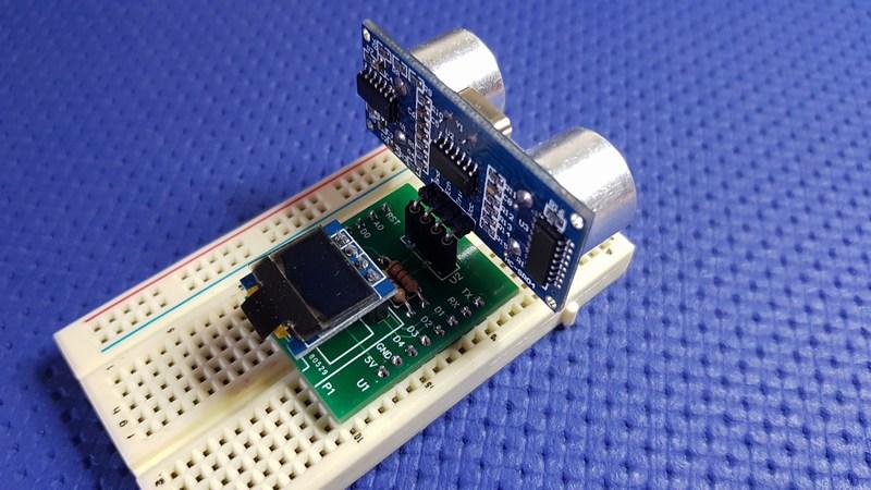 Wemos D1 - mini meter shield