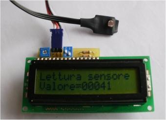 sensore luce robozak
