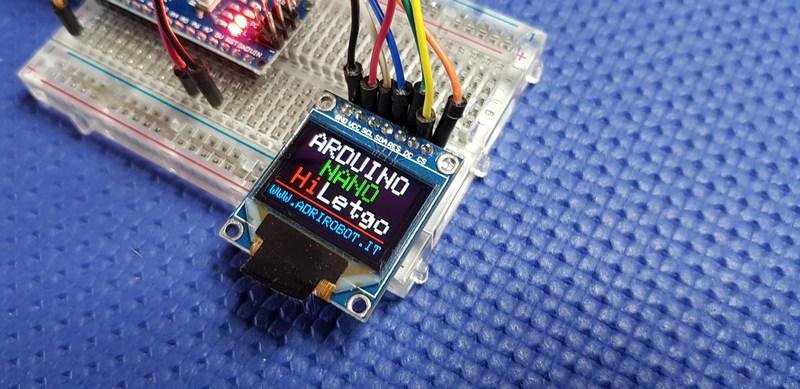 display LCD TFT OLED