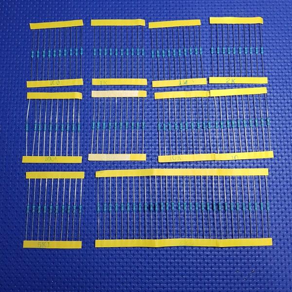 Basic Starter Kit Uno - Resistori