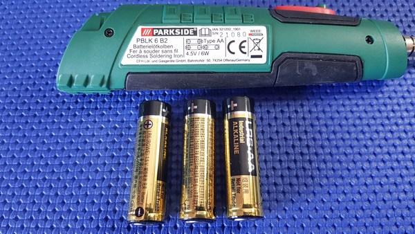 Batterie per saldatore