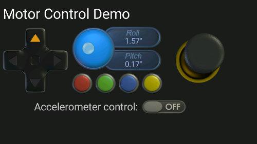 APP controllo robot