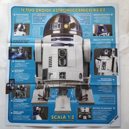 STAR WARS Costruisci R2-D2