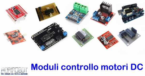 moduli shield controllo motori