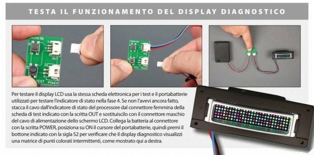 r2-d2 display diagnostico
