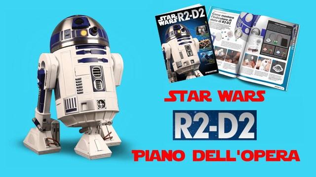 Costruisci R2-D2 piano opera