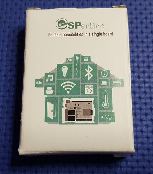 Scheda ESPertino ESP-WROOM-32