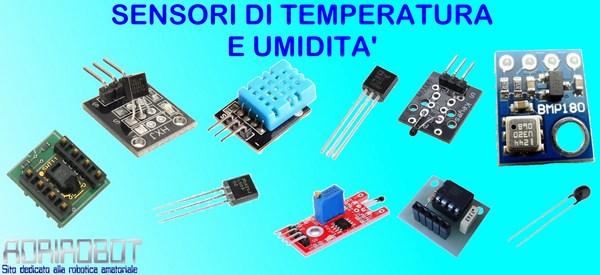 sensori umidità temperatura