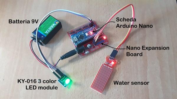 water sensor livello conduttività