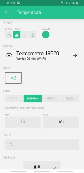 iot blynk wemos 18b20