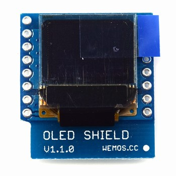 oled shield wemos d1