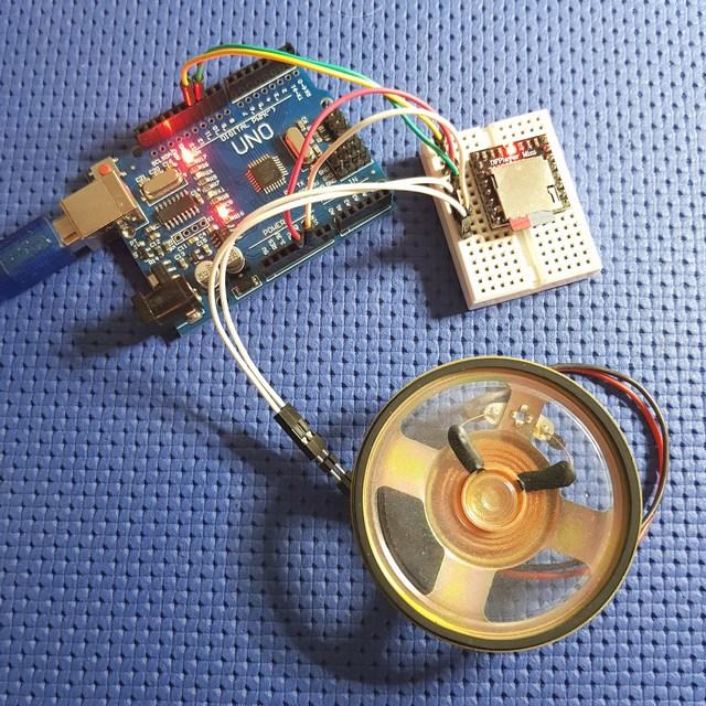 DFPlayer Riproduttore MP3 Arduino