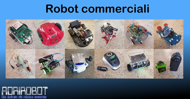 Robot commerciale kit montati