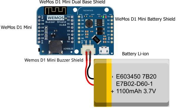 Buzzer Shield Wemos D1