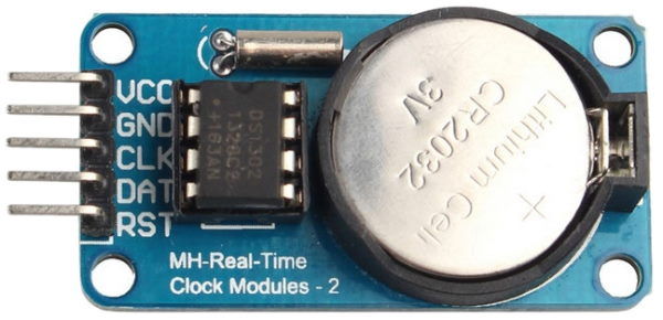 Real-Time Clock Module ds1302