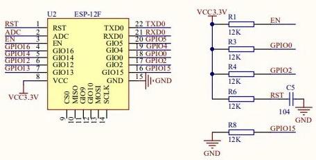 Scheda sviluppo ESP8266 ESP-12F