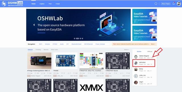 OSHWLab hardware open source