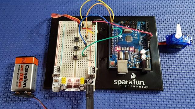 Realizzare servo tester Arduino