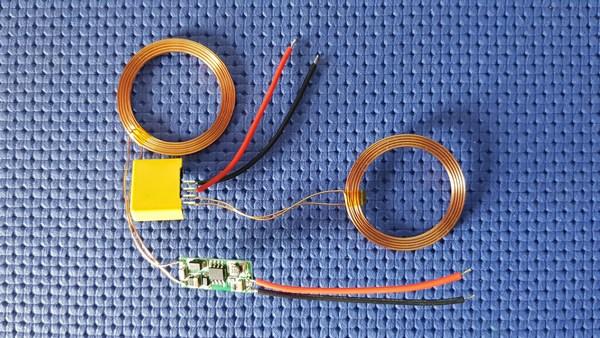 moduli TX+RX ricarica wireless